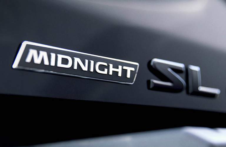 2018 Nissan Titan Midnight Edition logo