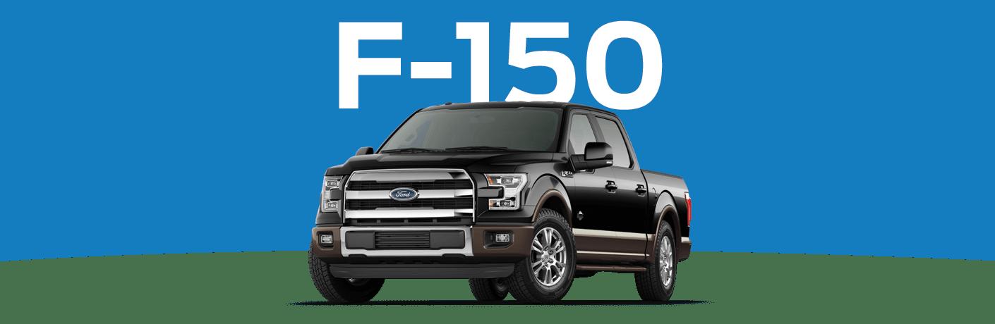 2015 Ford F-150 in black