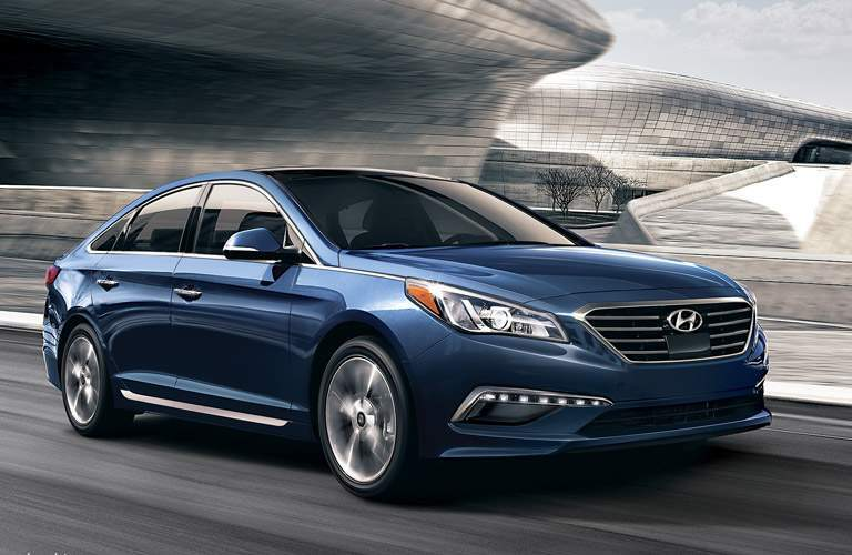 2016 Hyundai Sonata in blue