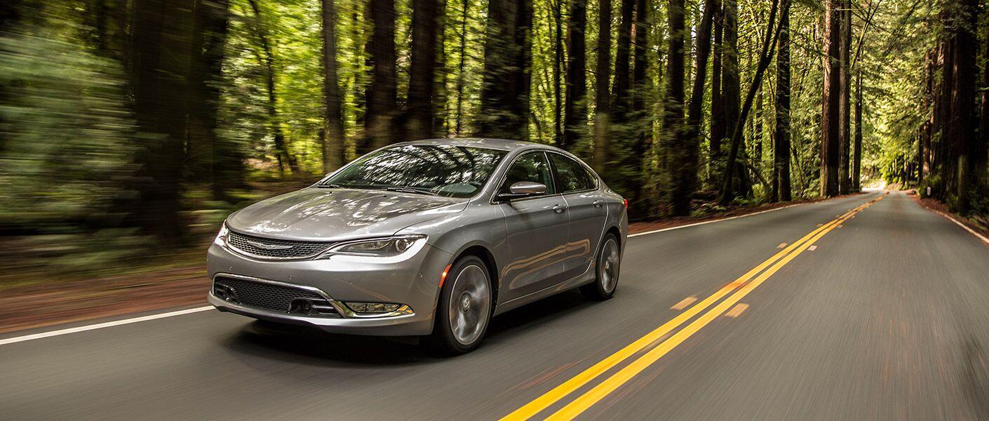 2017 Chrysler 200 in gray