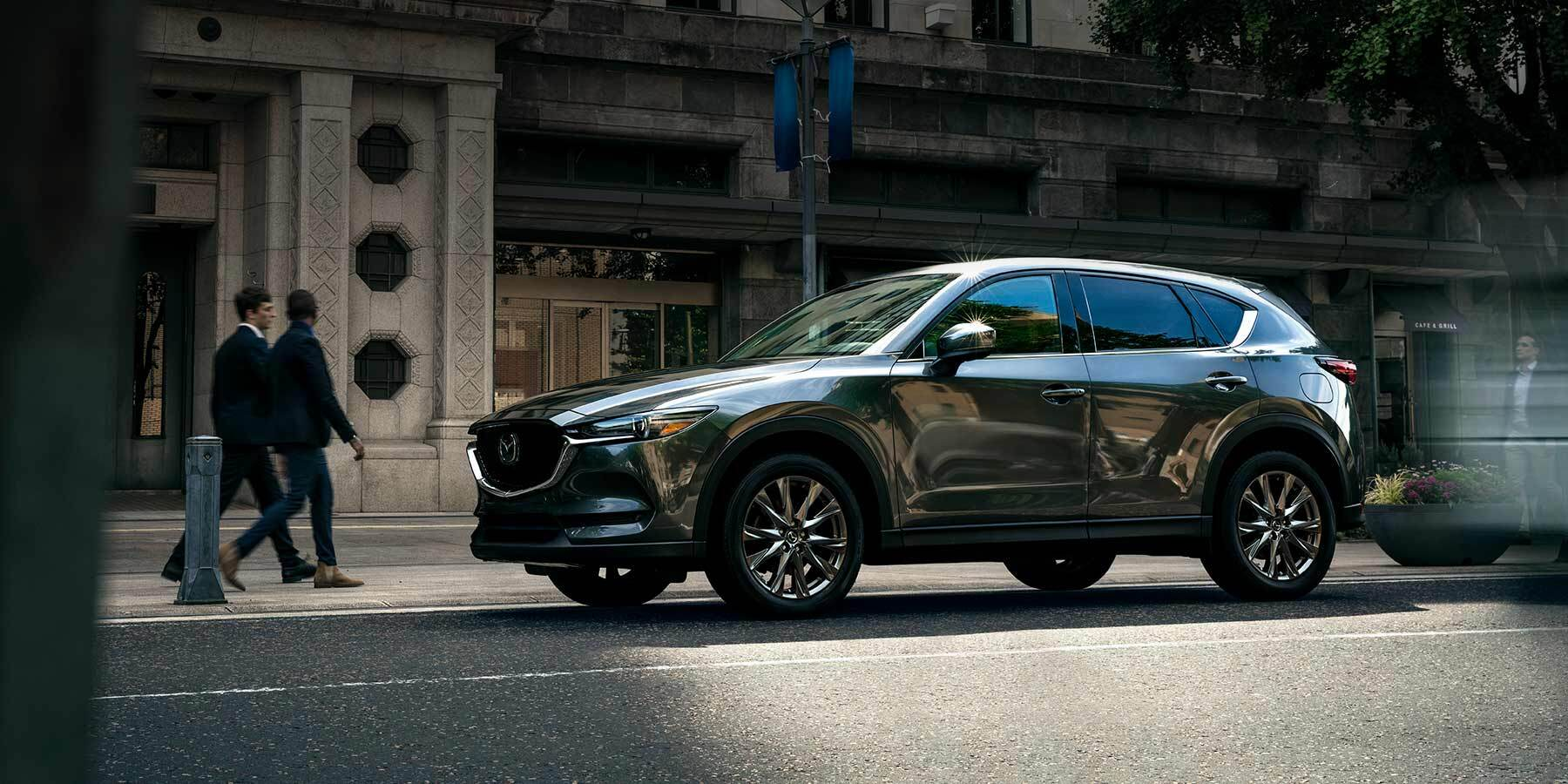 2019 Mazda CX-5 parked on a city street