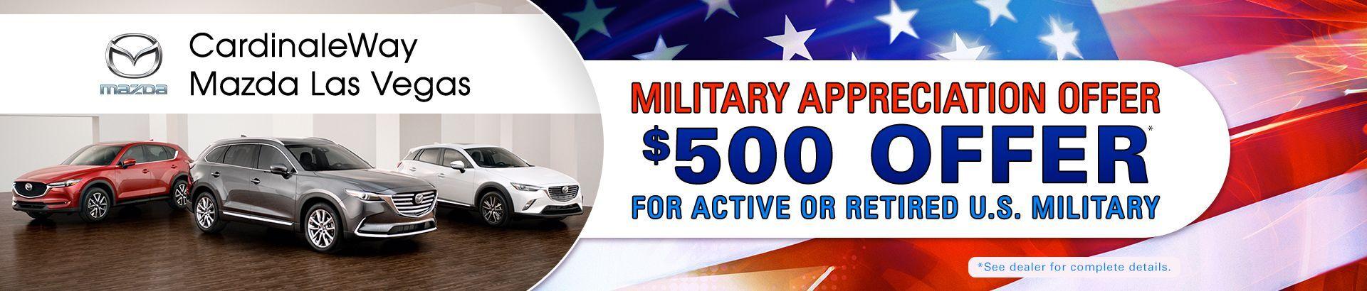 Mazda Military Specials