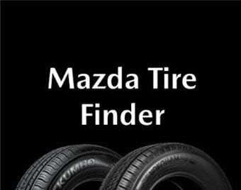 Mazda Tire Finder