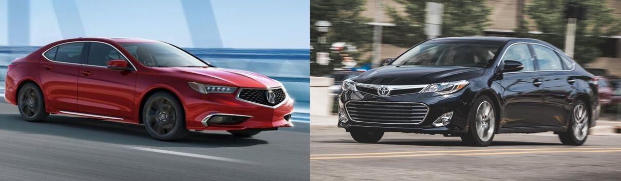 Acura TLX Vs Toyota Avalon You Can Step Up To An Acura - Acura tlx 2018 price