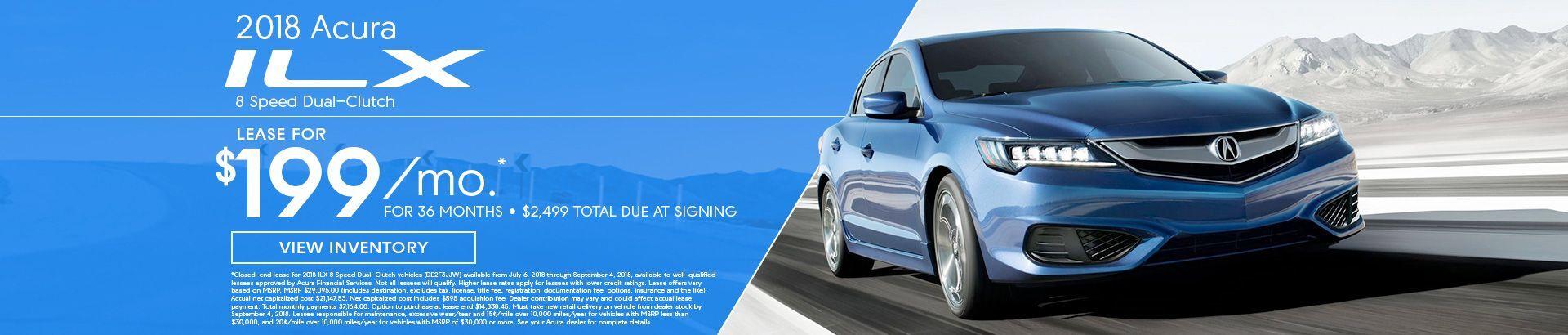 Acura ILX Specials