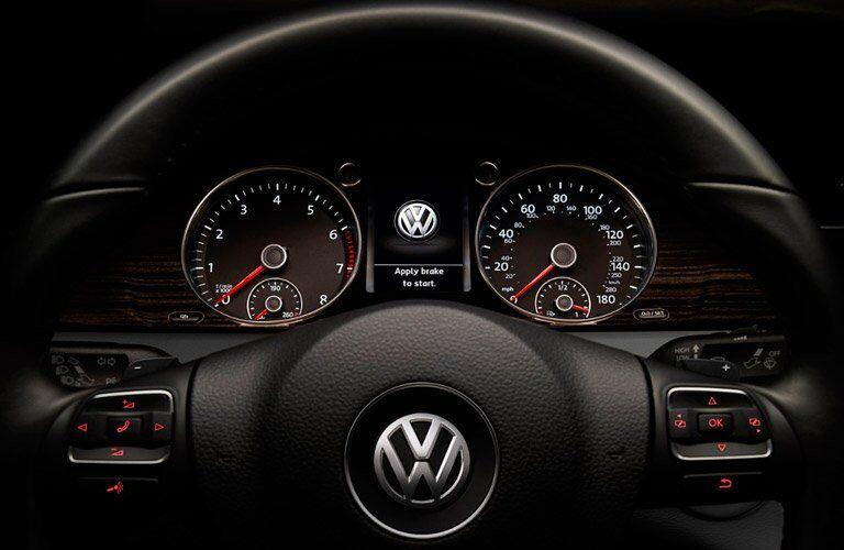 2017 Volkswagen CC Speedometer