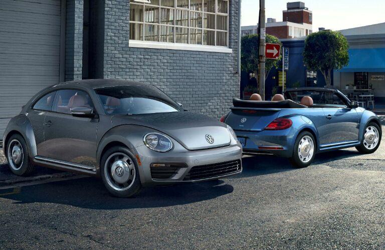 2017 vw beetle classic sedan and convertible models