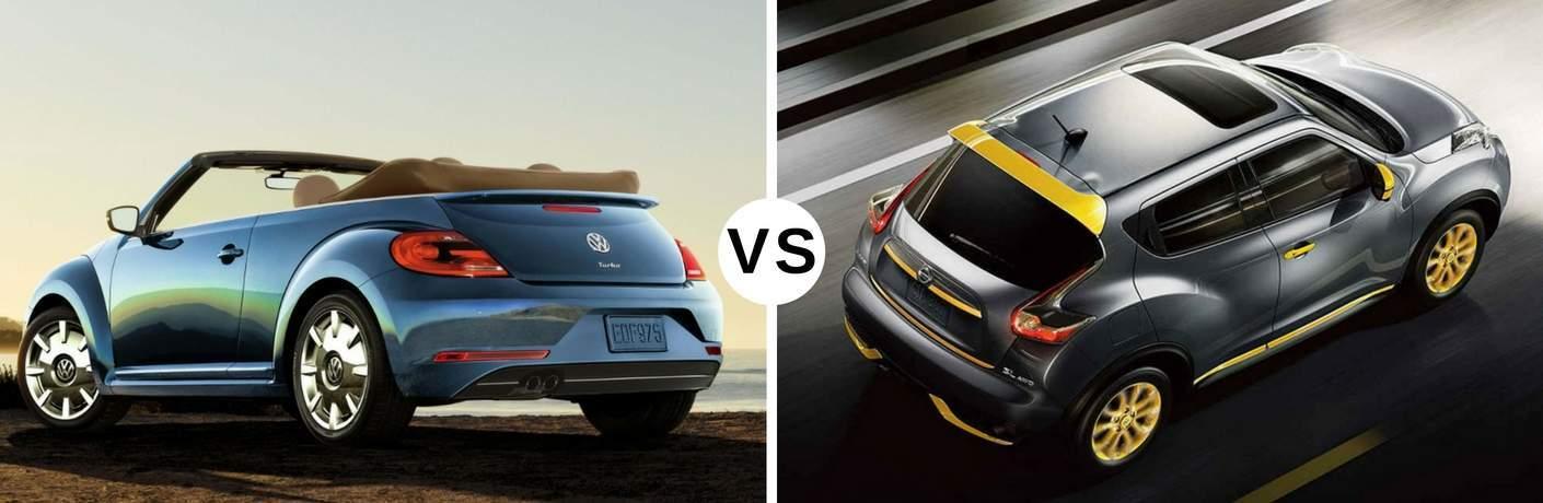 2017 Volkswagen Beetle vs 2017 Nissan Juke