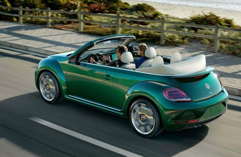 2017 Volkswagen Beetle Convertible in Bottle Green