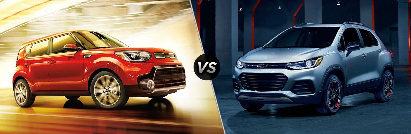 2018 Kia Soul vs 2018 Chevrolet Trax