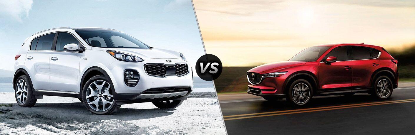 2018 Kia Sportage vs 2018 Mazda CX5