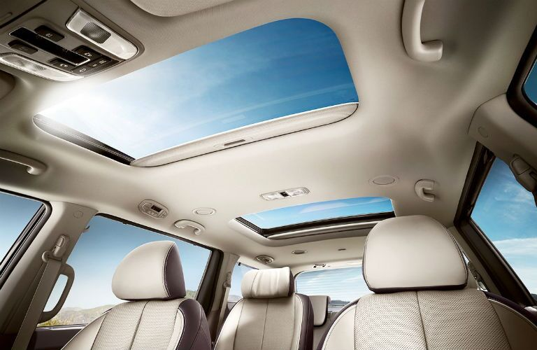 vista roof on 2018 kia sedona