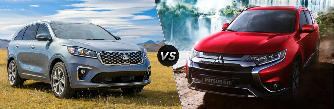 2020 Kia Sorento vs 2020 Mitsubishi Outlander