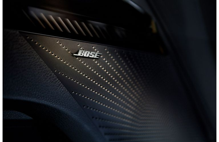 2021 Kia K5 interior close up on bose speaker