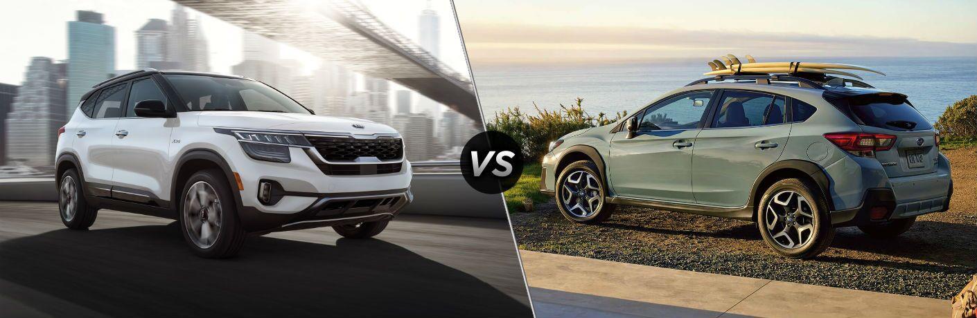 2021 Kia Seltos vs 2020 Subaru Crosstrek
