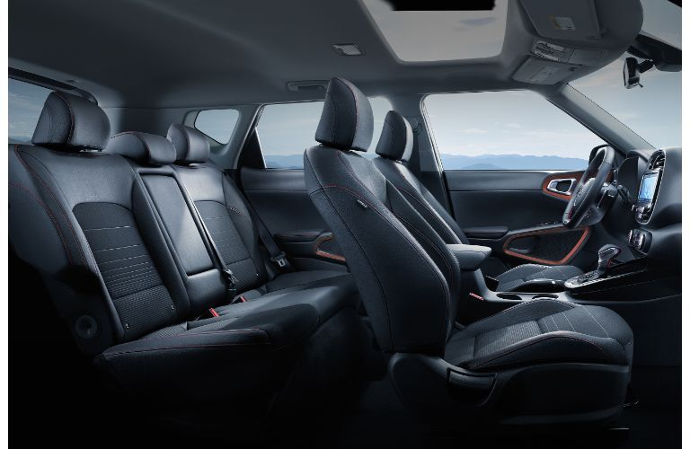 2021 Kia Soul interior wide view from side