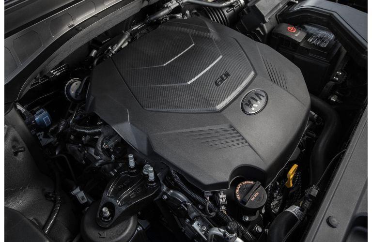 2021 Kia Telluride engine view
