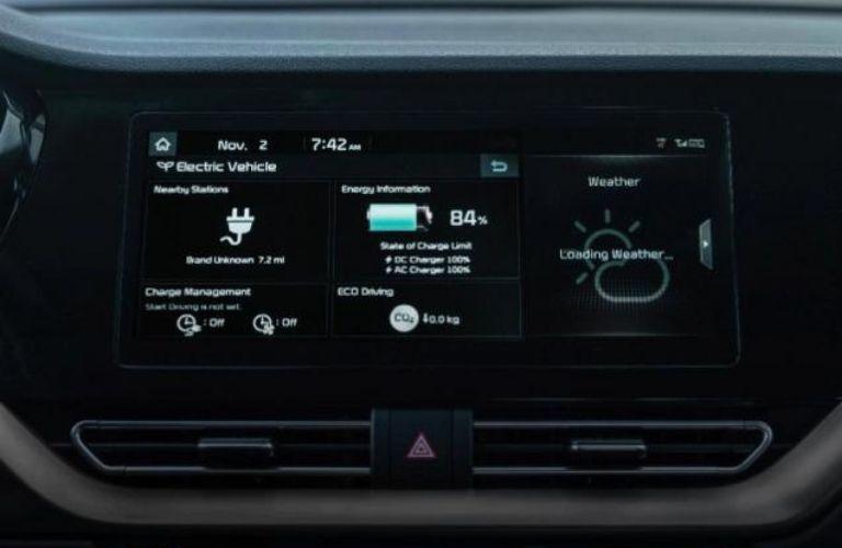 2022 Kia Niro EV Infotainment System