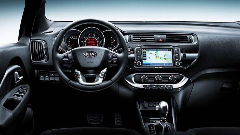 2016 Kia Rio interior steering wheel_o