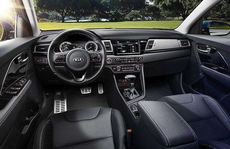 2017 Kia Niro front seat dashboard