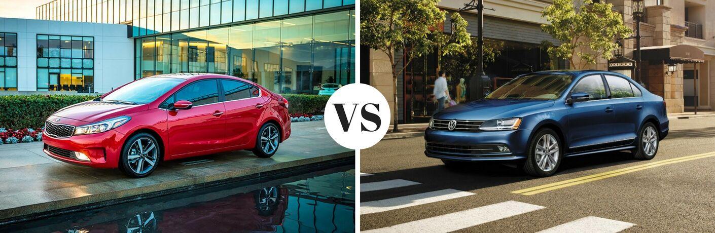 2017 Kia Forte vs 2017 Volkswagen Jetta