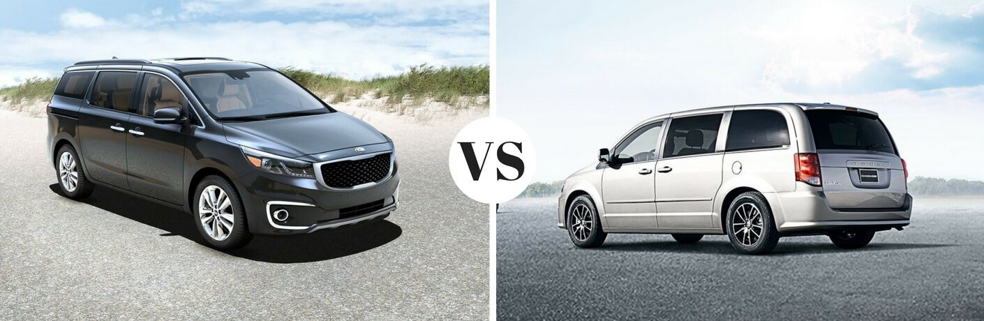 2017 Kia Sedona vs 2017 Dodge Grand Caravan