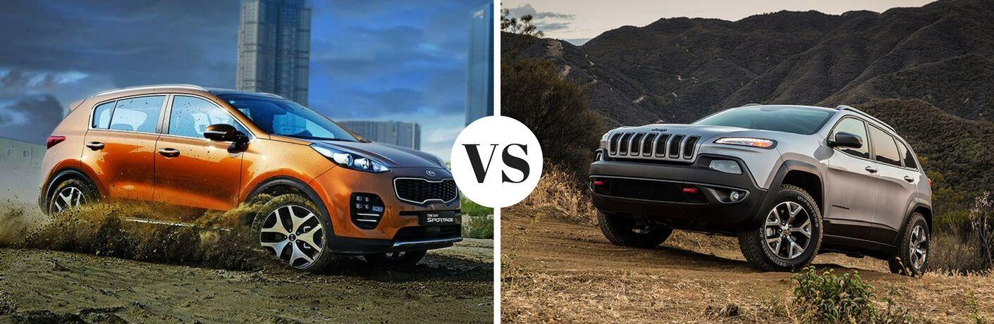 2017 Kia Sportage vs 2017 Jeep Cherokee