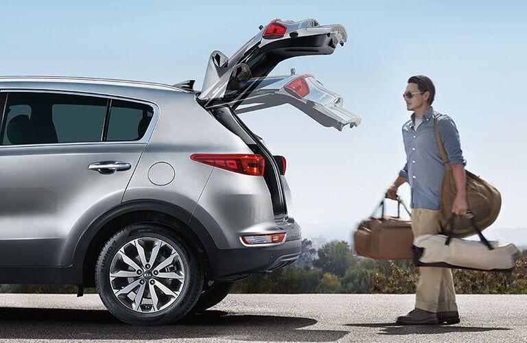Kia Sportage hands-free liftgate