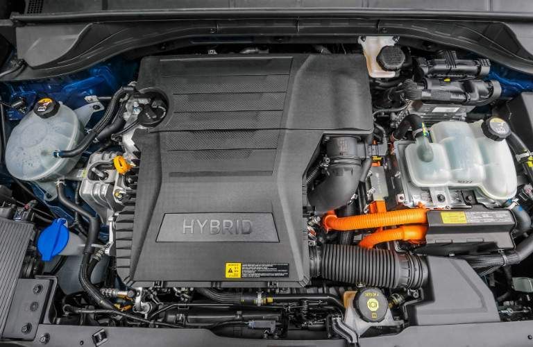 2018 Kia Niro hybrid engine