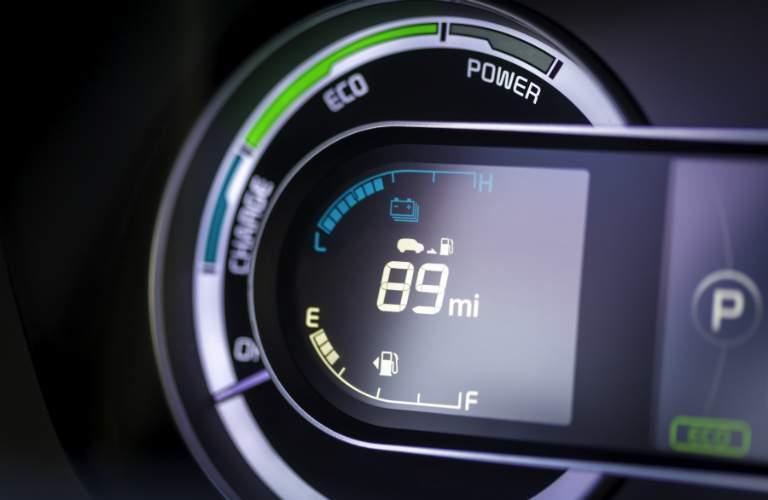 2018 Kia Niro range gauge