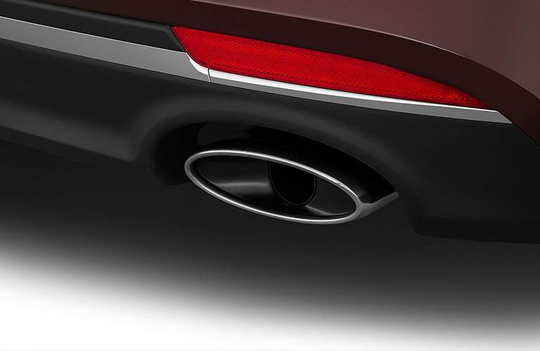 Exhaust pipe of 2018 Kia Optima