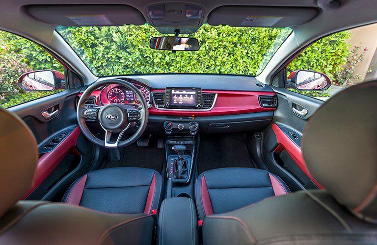 2018 Kia Rio interior front seat dashboard