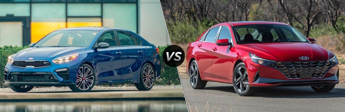 2021 Kia Forte VS 2021 Hyundai Elantra