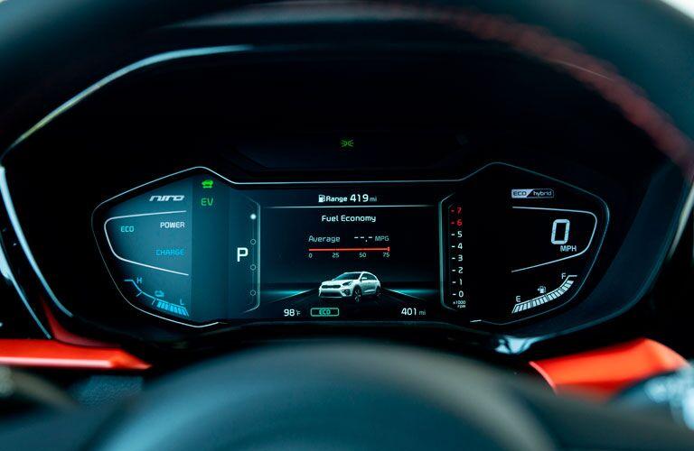 2020 Kia Niro interior instrument cluster display