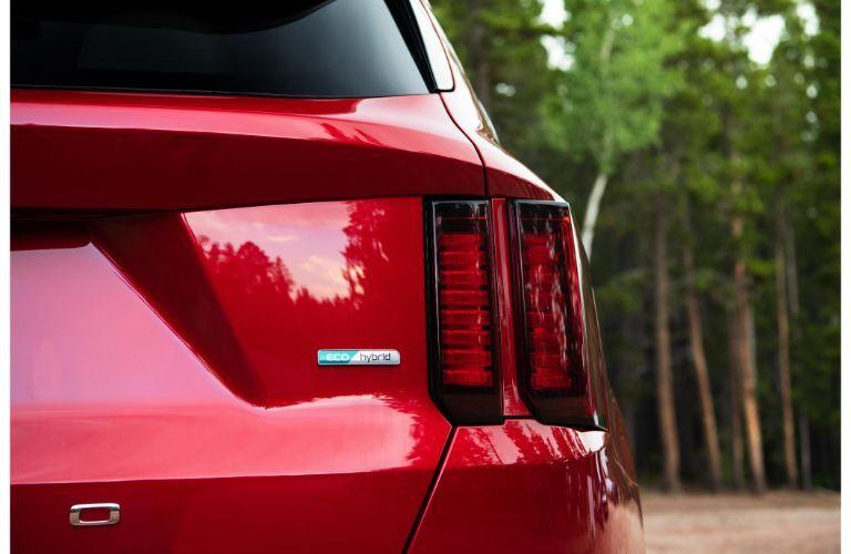 2021 Kia Sorento Hybrid Exterior Passenger Side Rear Taillight