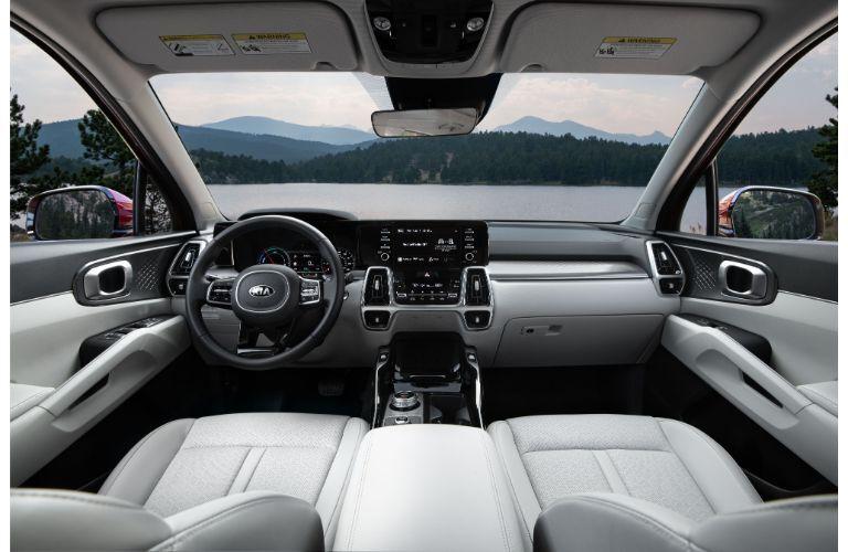 2021 Kia Sorento Hybrid Interior Cabin Dashboard & Front Seating