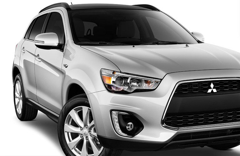 front view of a 2016 Mitsubishi Outlander Sport