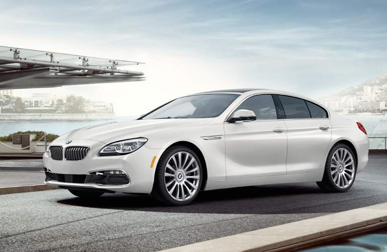 White 2017 BMW 6 Series Side Exterior Next to the Water