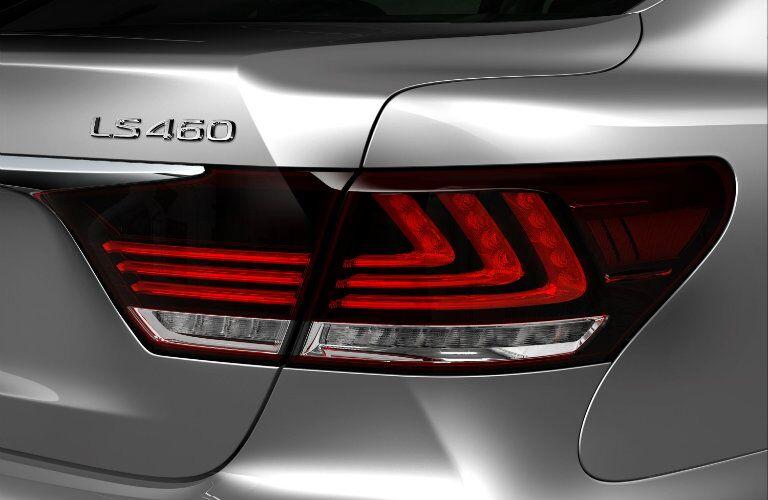 Lexus LS 460 taillights_o