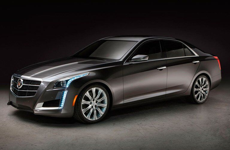 side view of the 2014 Cadillac CTS