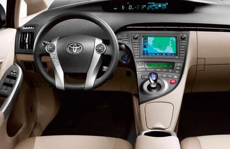 Used Toyota Prius dashboard