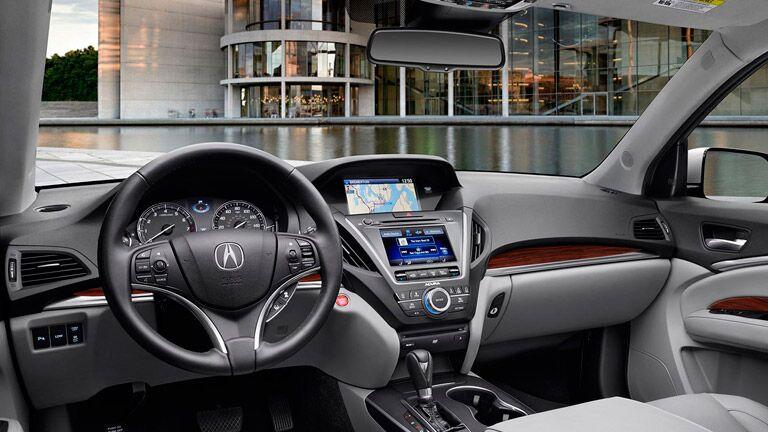 Used Acura MDX dashboard