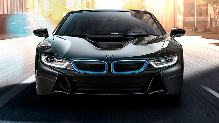 2015 BMW i8 exterior front fascia
