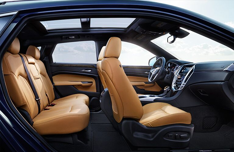 Used Cadillac SRX seating