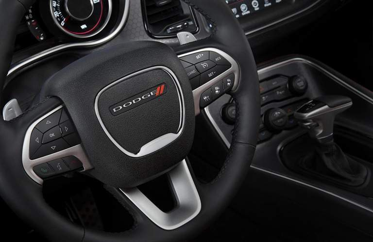 2015 Dodge Challenger steering wheel
