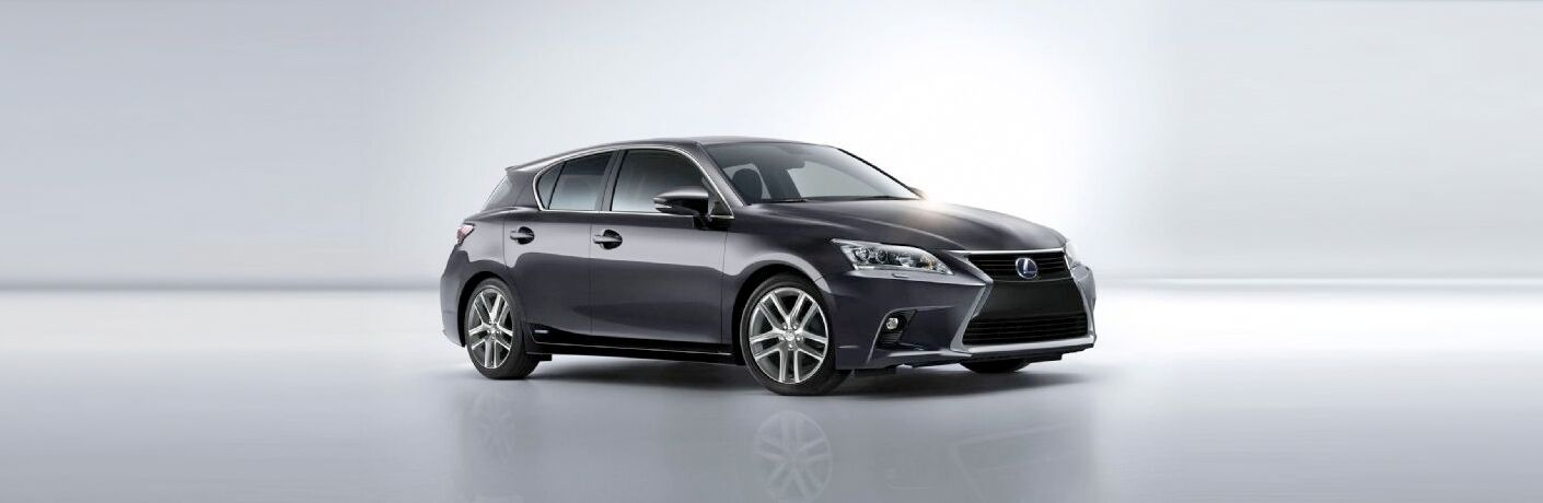 2015 Lexus CT 200h exterior front fascia and passenger side