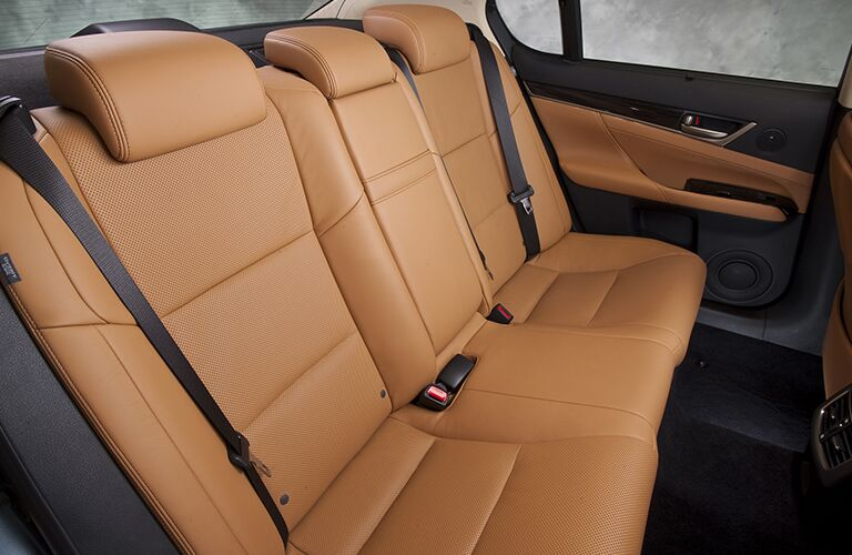 2015 Lexus GS 350 interior back cabin seats
