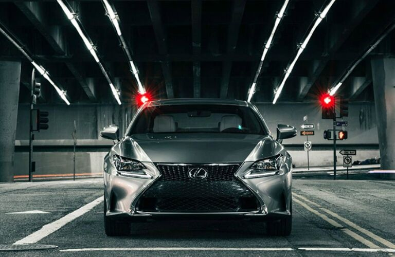 lexus rc from front