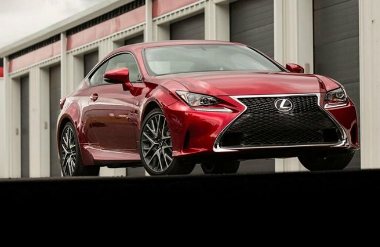 full view lexus rc