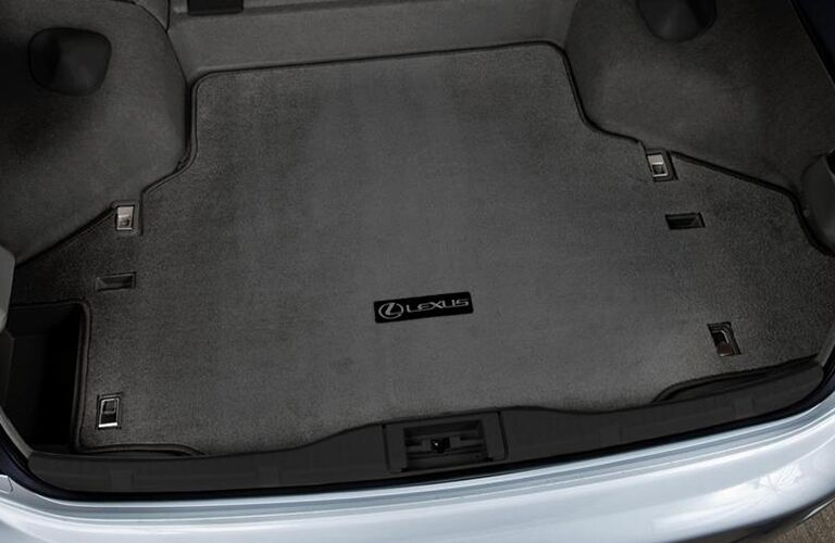 2015 Lexus iS interior trunk space